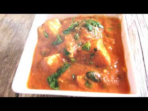 CREAMY PANEER SABJI - Krsnatarian (Quick video) suitable for Ekadashi