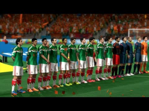 FIFA World Cup 2014: Mexico vs Netherlands (Round Of 16) Simulation (EA FIFA World Cup 2014 Brazil)