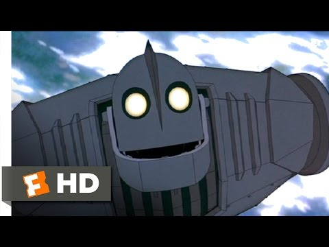 The Iron Giant Movie CLIP - Superman (1999) HD
