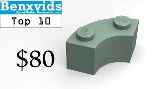 Top 10 Most Expensive LEGO Parts