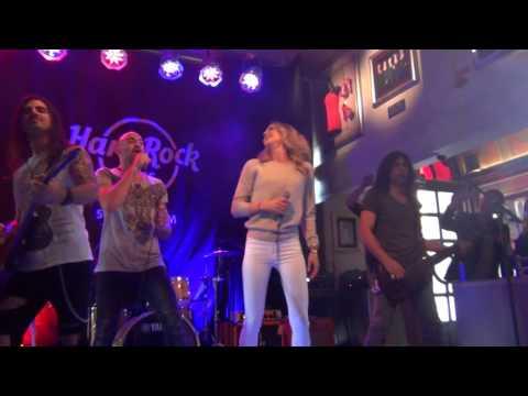 ESCKAZ in Stockholm: Minus One (Cyprus) in Hard Rock Cafe