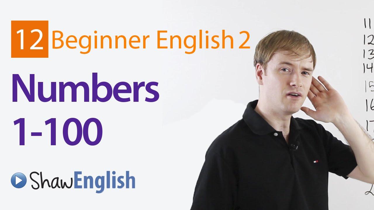 Số đếm từ 1-100 trong tiếng Anh
