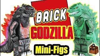Godzilla LEGO Custom Minifigures 2018