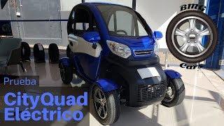 Prueba / Test / Review  de Vehículo Eléctrico CityQuad BMG Cars