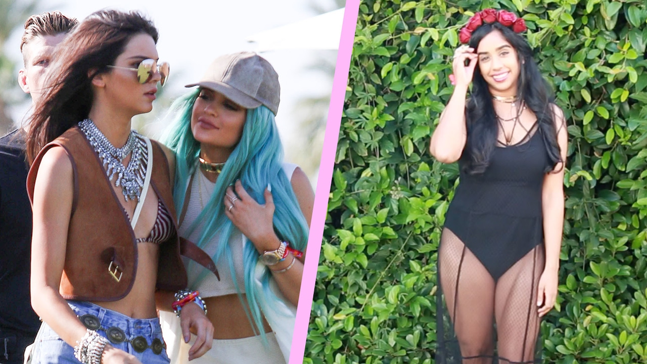 People Wear Coachella-Inspired Outfits For A Day