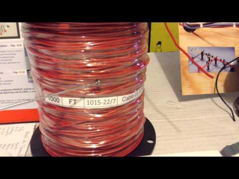 Cable Monoconductor UL AWM 1015, para fabricación de Arneses, OEM, Harness  
