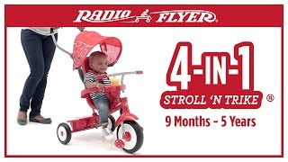 Radio Flyer 4-in-1 Stroll