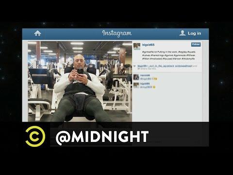 Jim Norton, John Roy, Kurt Braunohler - Selfie-Esteem: Gym Edition - @midnight with Chris Hardwick