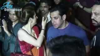 Salman Khans Grand Ganesh Visarjan Bollywood Celebrities