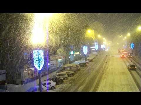 Śnieżyca W Szczecinie