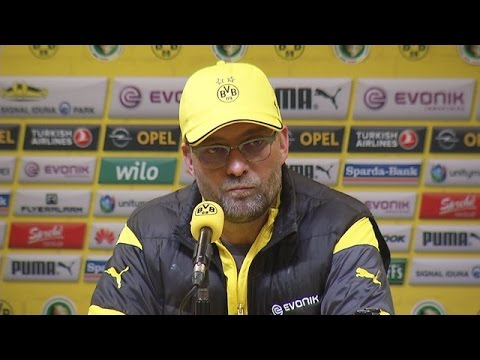 Pressekonferenz: Jürgen Klopp nach dem Pokalspiel gegen Hoffenheim (3:2 n.V.) | BVB total!