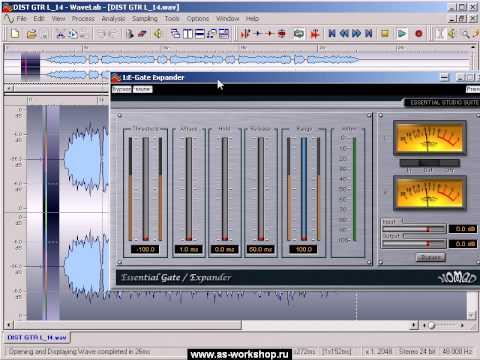A.S.Workshop - Что такое Noise Gate и как им пользоваться