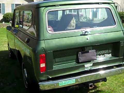 1980 IH Scout Turbo Diesel