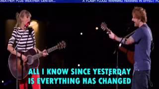 download lagu Taylor Swift Everything Has Changed Ft Ed Sheeran Lyrics gratis