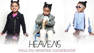 Toddler Lookbook | Fall-to-Winter Outfits for Toddlers ft. Heaven (Size 4T/5T)