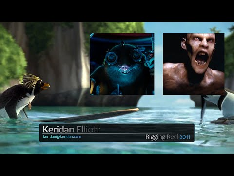Keridan Elliott - Demo Reel - Fall 2011