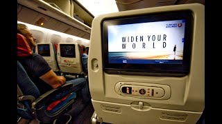Economy class | Turkish Airlines TK71 Hong Kong to Istanbul Ataturk Boeing 777-300ER (Review #44)