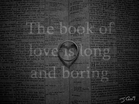 Book of Love - Peter Gabriel (Lyrics/Pictures)
