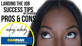 Working for Carmax: My experience, Interview Process, Pros & Cons, Why I quit