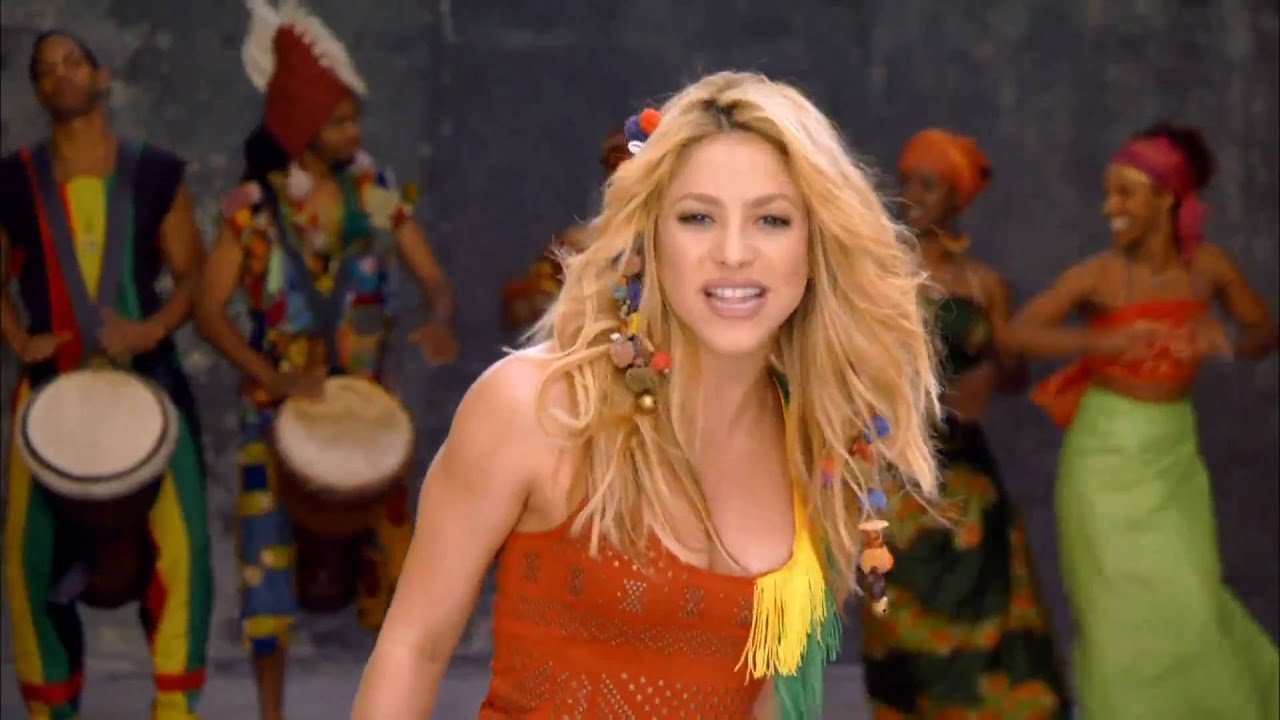 Шакира вака вака, Shakira - Waka Waka (FifaWorld Cup) - скачать 7 фотография