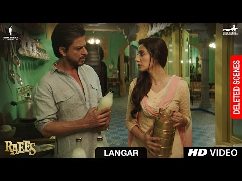 Raees | Langar | Deleted Scene | Shah Rukh Khan, Mahira Khan, Nawazuddin Sidiqqui thumbnail