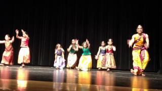 sapna's bharat natyam dance recital 2012