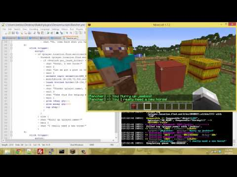 Denizen Scripting Tutorials - Lets Script: Horse Retrieval Quest!