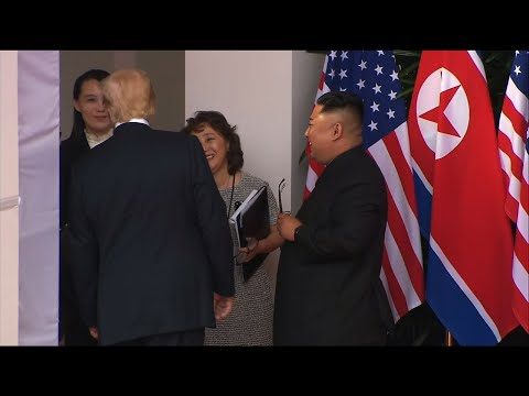 Trump Announces Signing With Kim