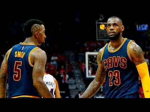 "J.R. Smith Clowns LeBron James' Hairline ""You Can't Have Everything"""