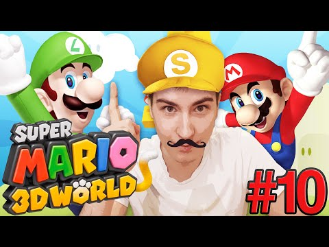 Super Mario 3D World [#10] - KSIĘŻNICZKA!