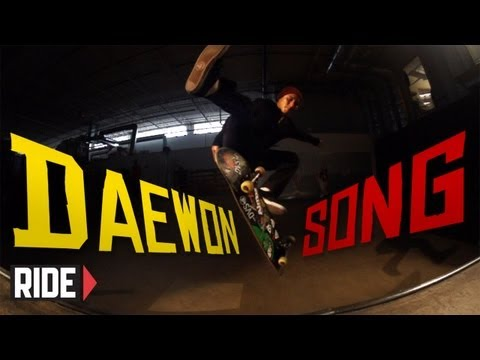 Skateboarding in Slow Motion: Daewon Song - Triple Flip Fakie