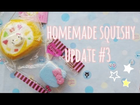Homemade Squishy Update #3   - YouTube