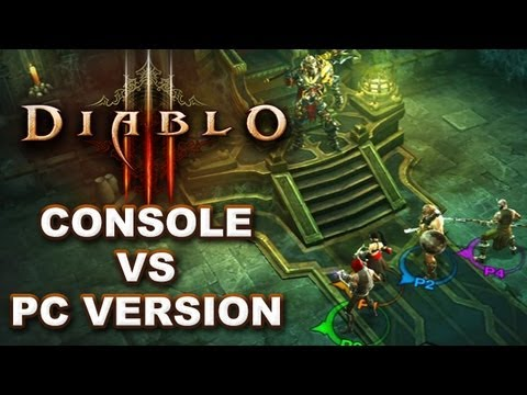 Diablo III Console vs PC Version: Feature & Mechanics Differences