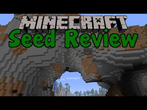 SEED REVIEW - Minecraft 1.6.1 - EPIC Mountains + SPAWNER