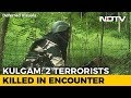 2 Terrorists Shot Dead In Jammu And Kashmirs Kulgam, 1 Surrenders