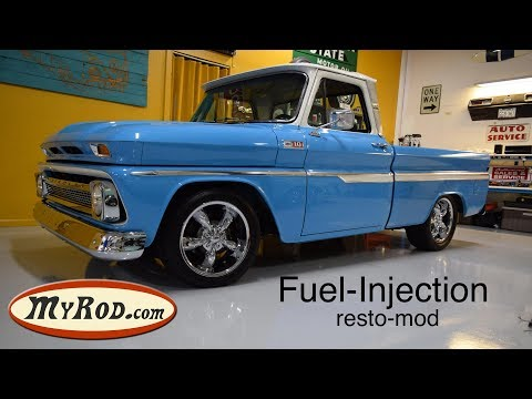 1965 Chevy Truck fuel injected RESTO-MOD Music Videos