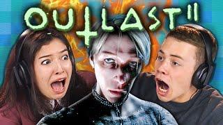 OUTLAST 2   RUN OR DIE!!! (React: Gaming)