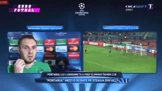 Cosmin Moti Interview after PFC Ludogorets vs Steaua 6-5 ( Champions League ) 2014 H