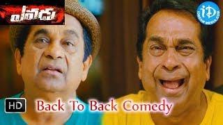 Yevadu - Yevadu Movie - Back2Back Comedy Scenes - Brahmanandam, Ajay, Ram Charan
