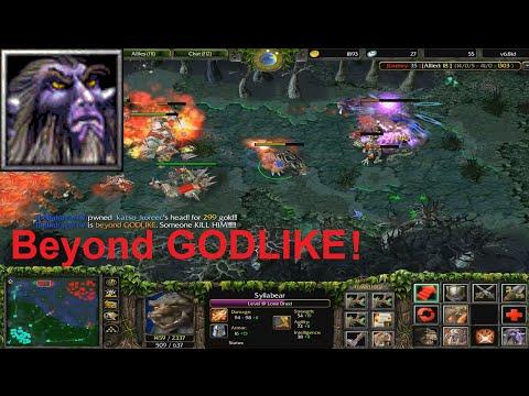 DotA 6.81d - Lone Druid, Syllabear Beyond GODLIKE !