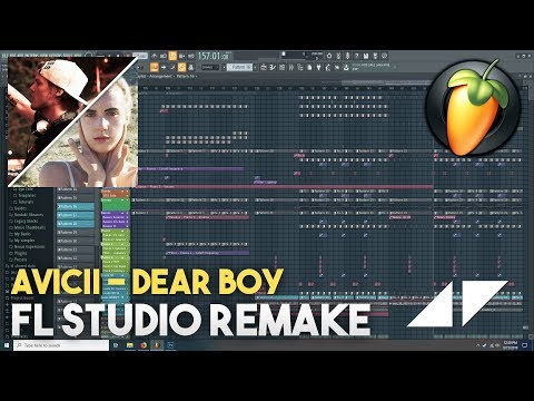 Avicii - Dear Boy ft. MØ (FL Studio Remake)