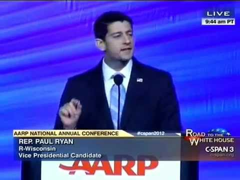 Paul Ryan Booed By AARP Crowd For Promising To Repeal 'Obamacare'