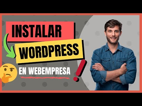 Como Instalar WordPress en Webempresa