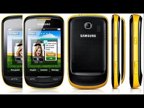 Samsung Corby Ii é Compatível Com Whatsapp Messenger? video