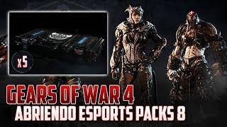Gears of War 4 | Abriendo Esports Packs 8 - No puede Ser!!