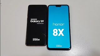 Honor 8X vs Samsung Galaxy S9 - Speed Test! (4K)