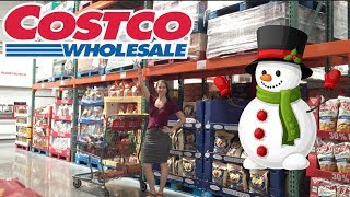 New at Costco Shop With Me!  Loads of Christmas Stuff!  You know you like shopping with me.