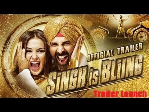 Singh Is Bling Official Trailer 2015 Launch | Akshay Kumar, Amy Jackson | Hindi Movie 2015