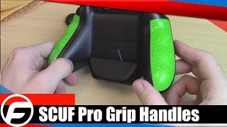 SCUF Pro Grip Handles for Xbox One Unboxing