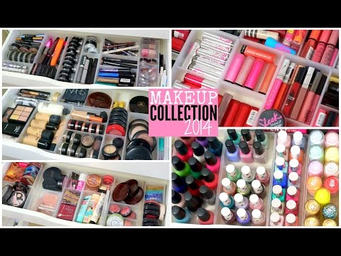 Makeup Collection 2014 | velvetgh0st ♡